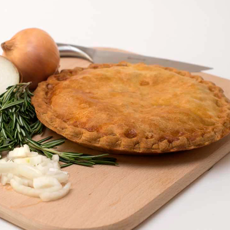 Cheese and Onion Plate Pie : plate pies - pezcame.com
